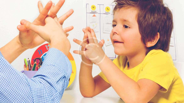 Autistic Children Help at a School's Coffee Shop